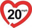 20mph  making streets liveable!